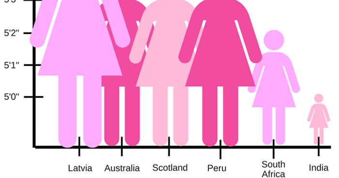 A the height of woman what is average Average Height