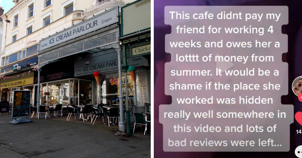 """""""This Cafe Didn't Pay My Friend For Working 4 Weeks"""": Woman Posts On TikTok, People Start Flooding It With Revenge Reviews - bored panda"""