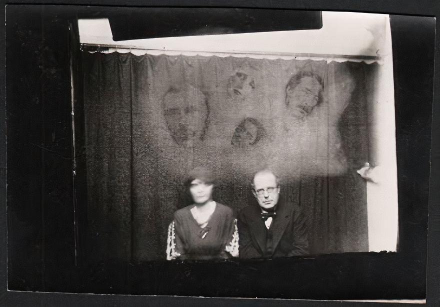 John Myers Spirit Seance Photo, 1933