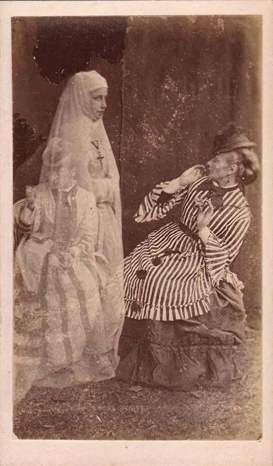 Ghost Of Bernadette Soubirous (Spirit Of Nun), 1880