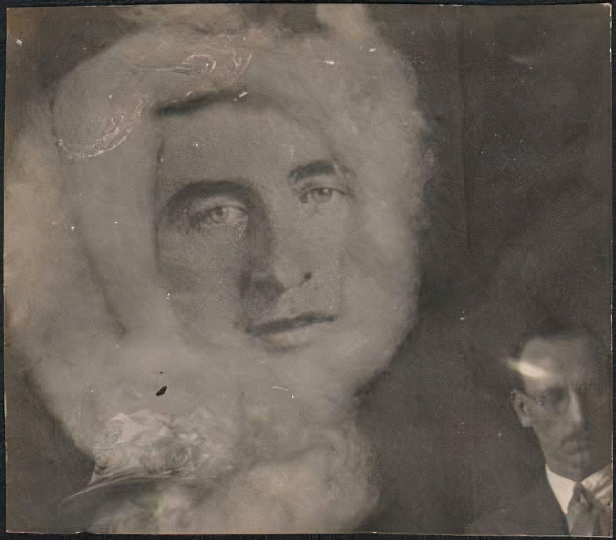 Craig And George Falconer (Mid 19th - Early 20th Century) Spirit Photograph, Circa 1930