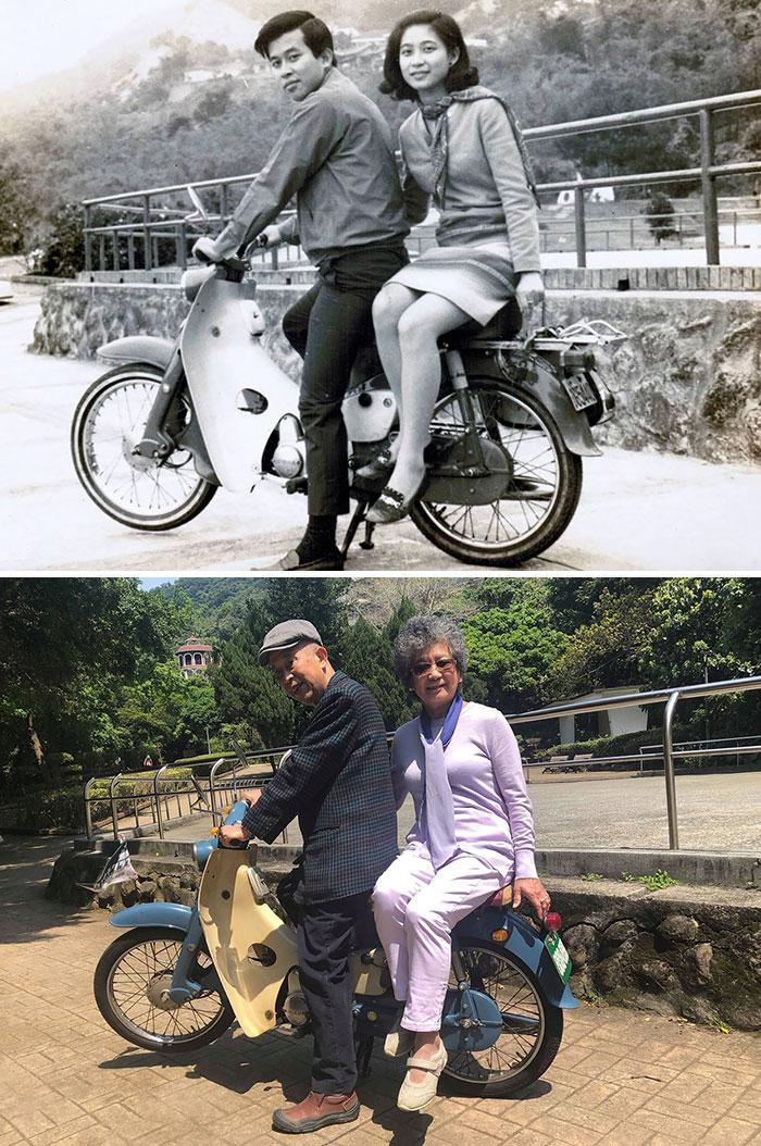 1967-2019: Same Bike, Same Couple