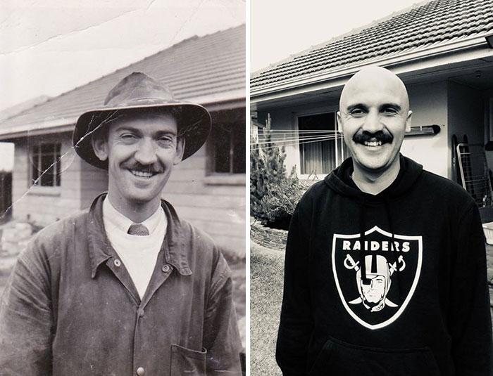 My Friend And His Grandpa, 65 Years Apart