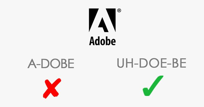 13 Popular Brand Names You Are Probably Pronouncing Wrong