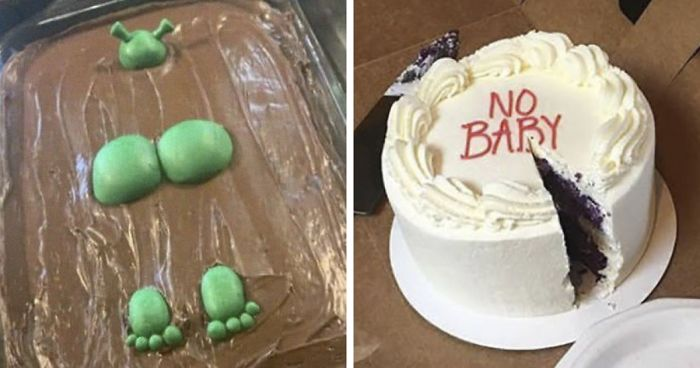 "40 Cursed Cakes From ""Cakes With Threatening Auras"""