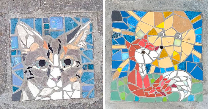 People In Brussels Are Marking Their Territories With These Creative Personalized Mosaics Outside Their Houses And Here Are 30 Of The Most Impressive Ones