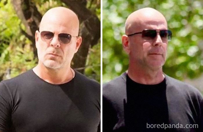 Look-Alike And Bruce Willis