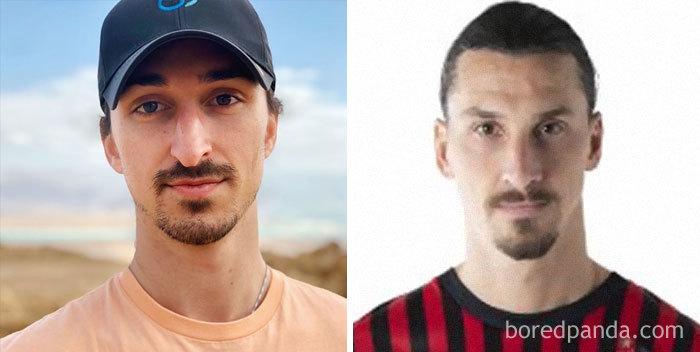 Look-Alike And Zlatan Ibrahimović