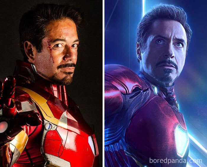 Look-Alike And Robert Downey Jr.