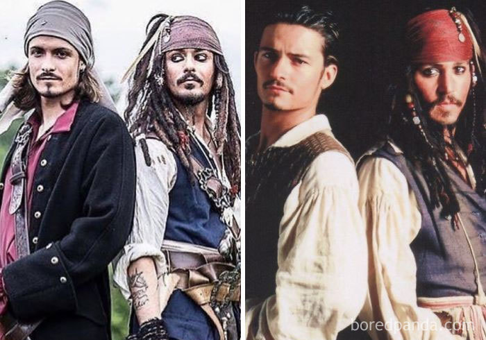Look-Alikes And Orlando Bloom And Johnny Depp
