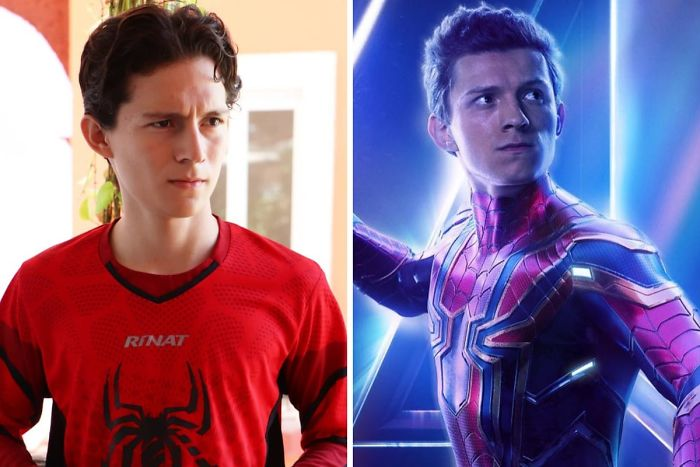 Look-Alike And Tom Holland