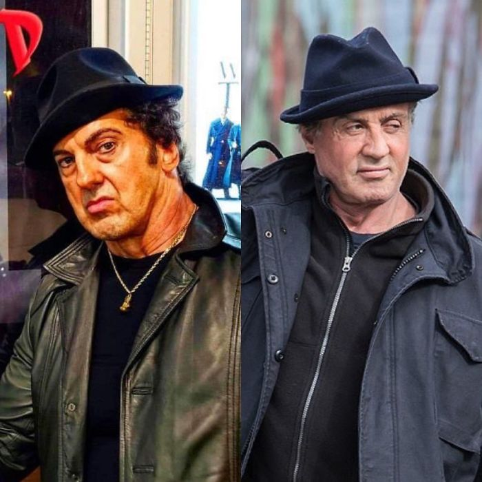 Look-Alike And Sylvester Stallone