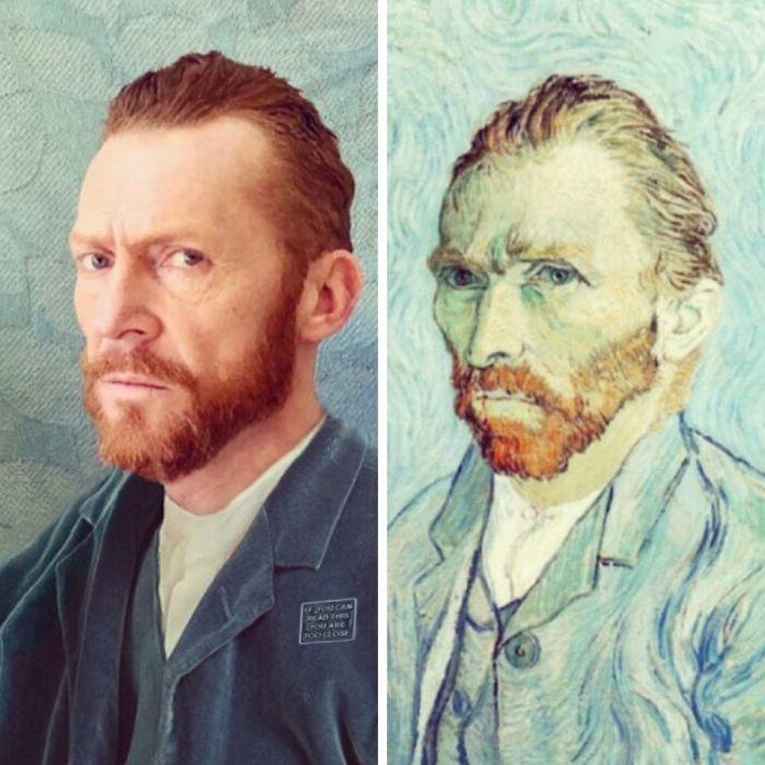 Look-Alike And Van Gogh
