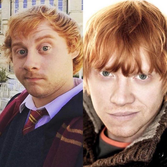 Look-Alike And Rupert Grint