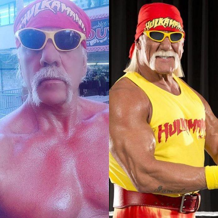Look-Alike And Hulk Hogan