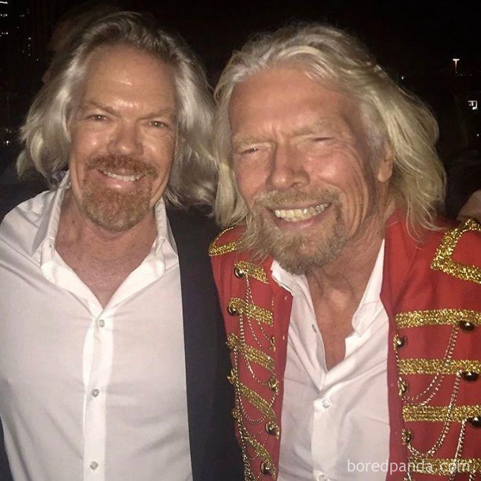 Look-Alike And Richard Branson