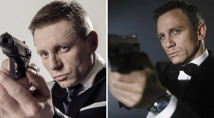 Look-Alike And Daniel Craig