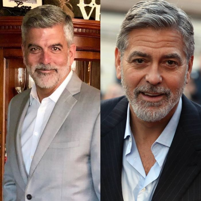 Look-Alike And George Clooney