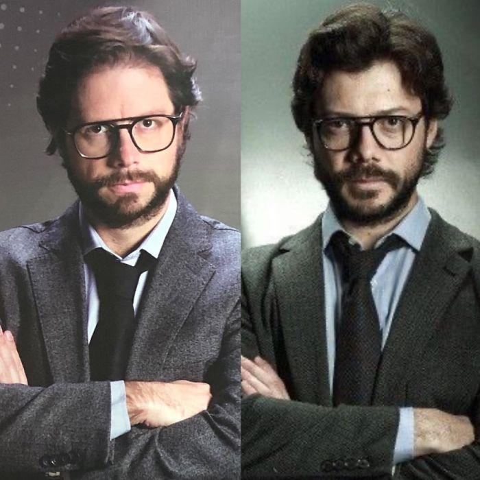 Look-Alike And Álvaro Morte