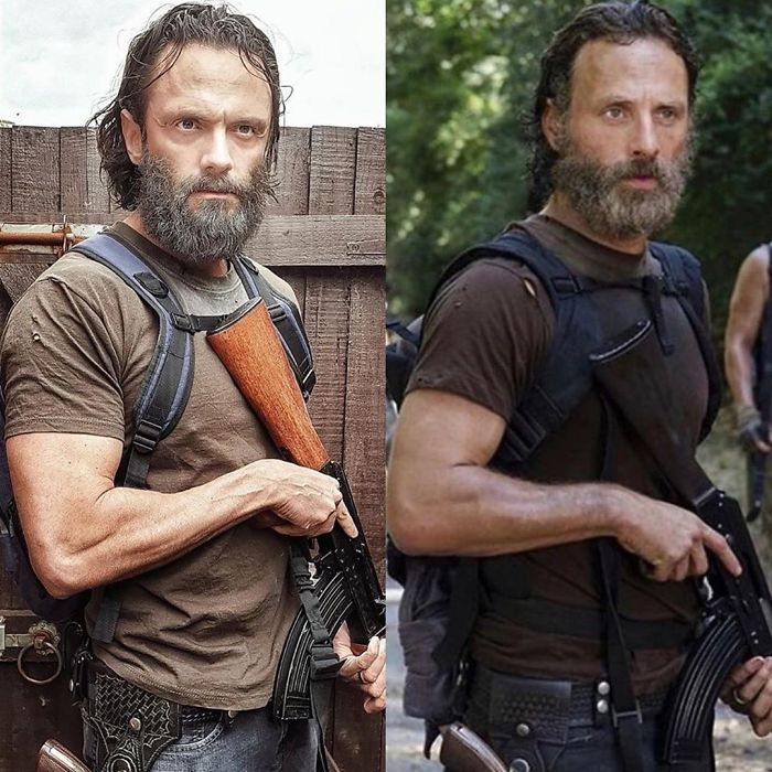 Look-Alike And Andrew Lincoln