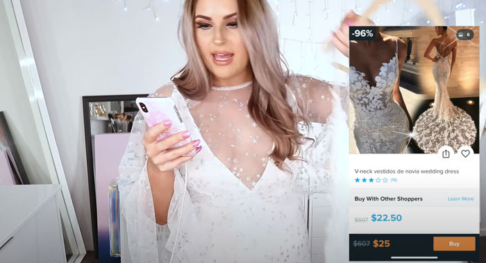 Girl Orders 10 Marriage ceremony Clothes From The Want App, Exhibits The Expectations Vs. Actuality