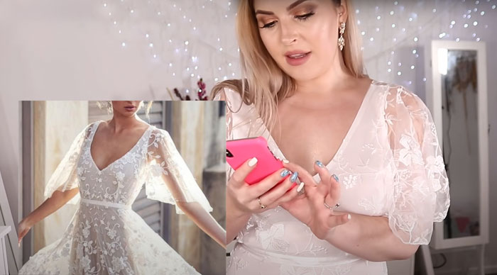 Lady Orders 10 Marriage ceremony Clothes From The Want App, Exhibits The Expectations Vs. Actuality