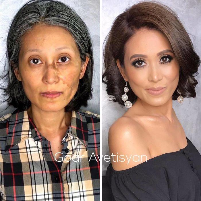 "30 Incredible Makeup Transformations That Prove ""Every Woman Is A Hollywood Star"" (New Pics)"