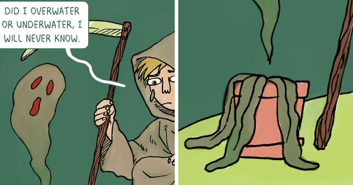 Cartoonist Illustrated 6 Types Of Plant Owners. Which Plant Parent Are You?