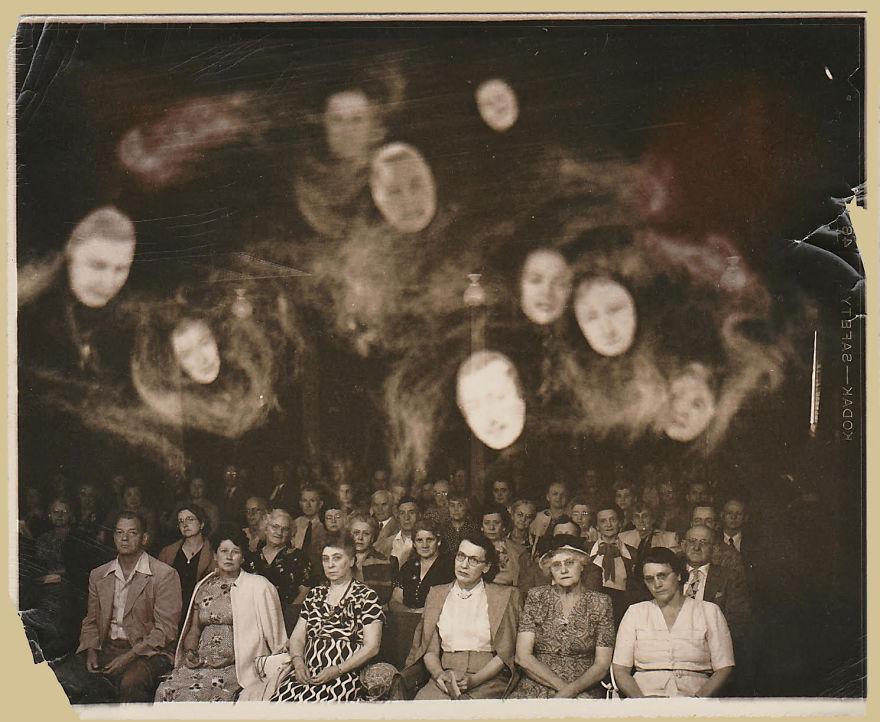 Jack Edwards, Spirit Photo From The 1940s