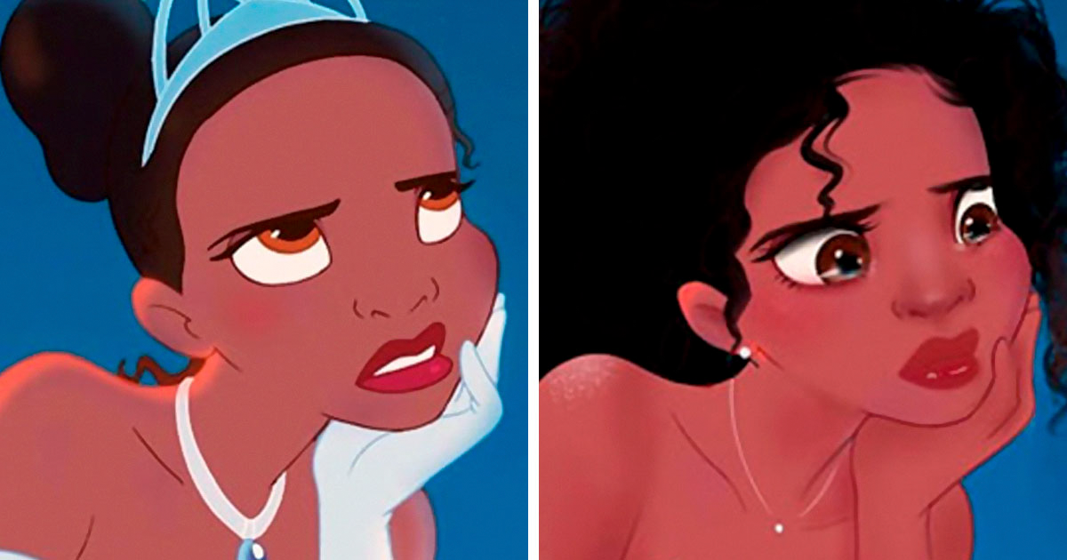 This Artist Is Going Viral For Giving Disney Characters Modern-Day Makeovers And Here Are 28 Of The Best Ones