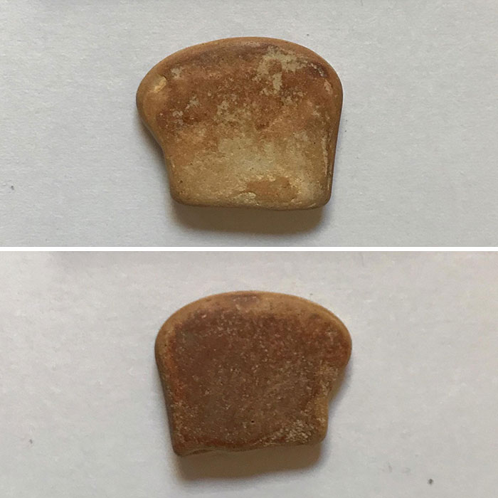 I Found A Pebble That Looks Like A Slice Of French Toast