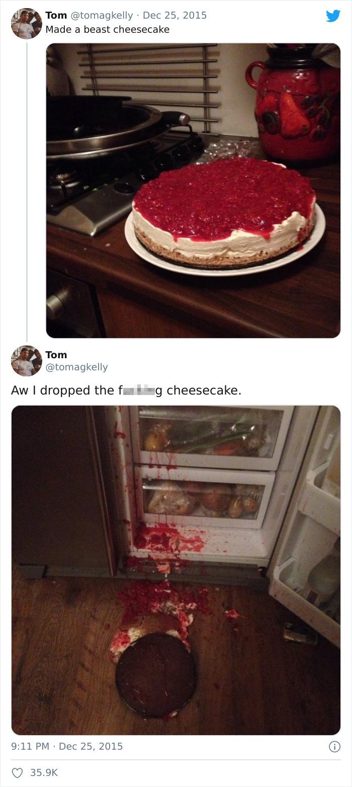 A Beast Cheesecake
