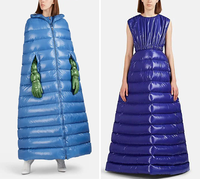 Thought This Was A Joke, But No, They're $4,000 Puffer Coats And Dresses By Moncler