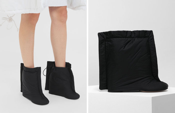 These Pillow Ankle Boots
