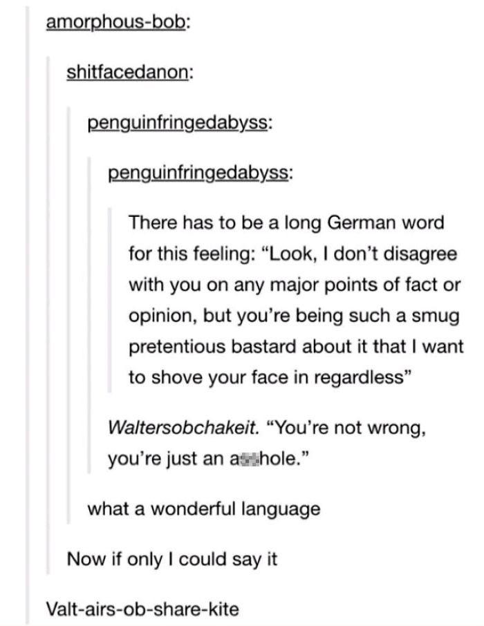 German Is A Beautiful Language.