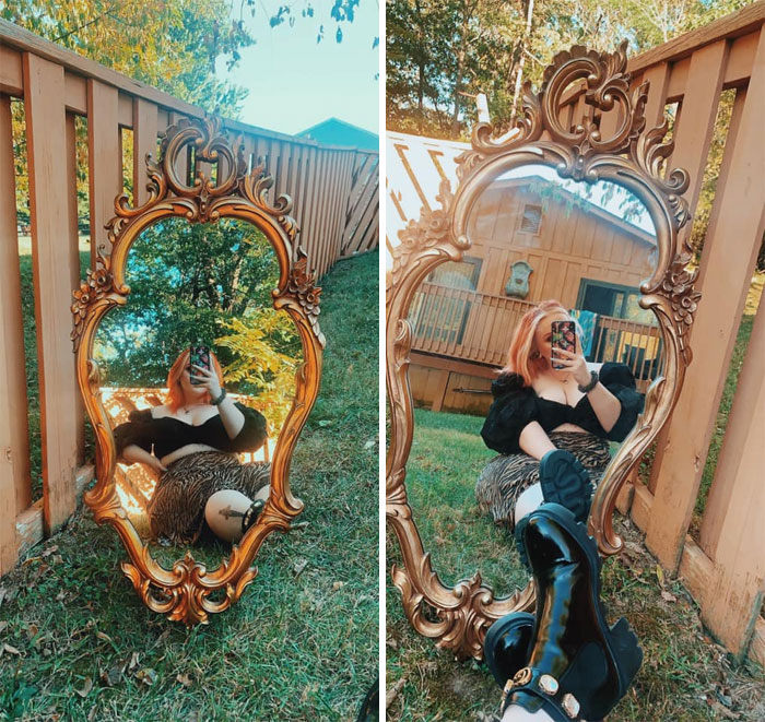 Yesterday I Thrifted What I Have Always Wanted!!! This Gorgeous Mirror, So Happy I Finally Found One