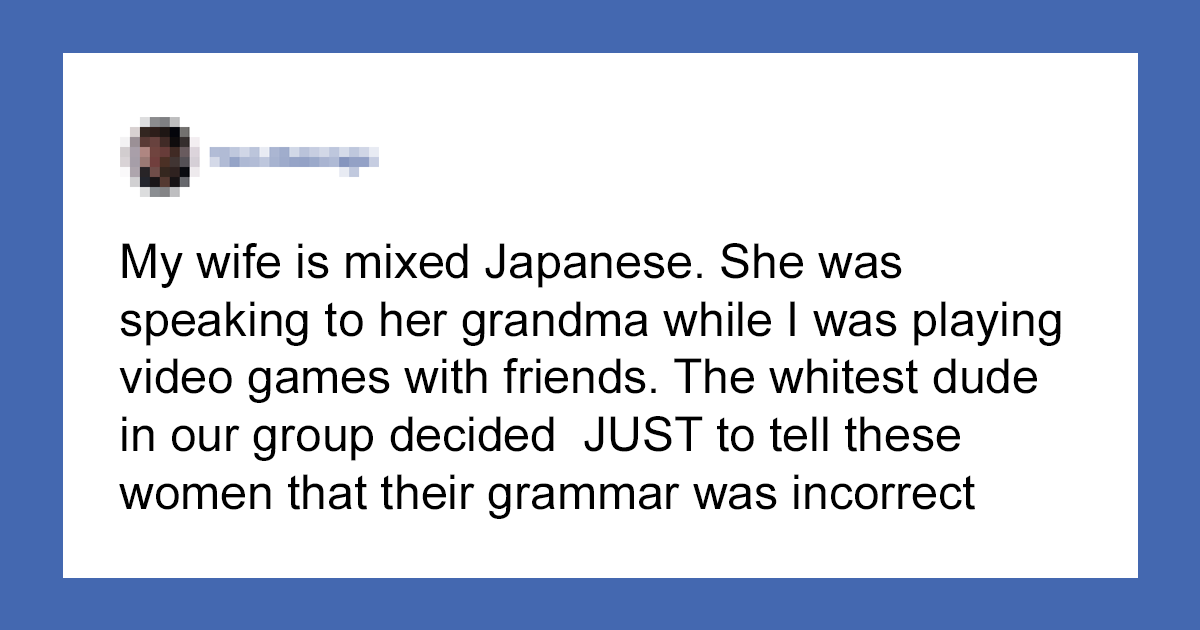 """""""Too Goddamn Stupid For His Own Good"""": Guy Corrects Elderly Woman's Japanese Grammar, Turns Out She's Japanese"""