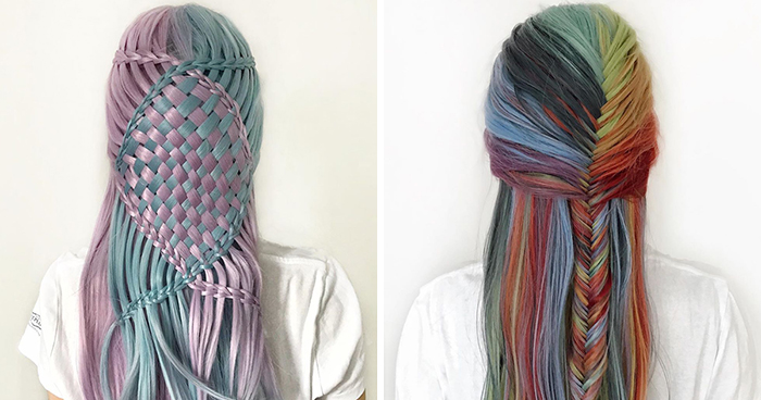 Esta adolescente alemana crea peinados increíblemente intrincados, y aquí están 30 de los más geniales