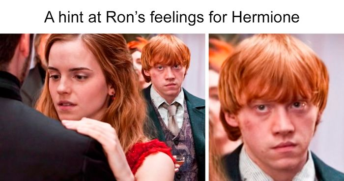 Harry hermione big ass story 30 Scenes That Got Cut From Harry Potter Movies That Fans Wish Hadn T Been Deleted Bored Panda