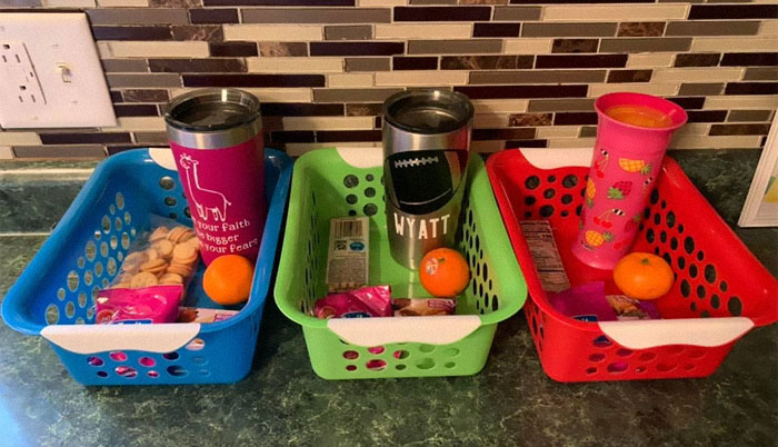 Mom-Of-Three Shares Her Snack Hack, Goes Viral