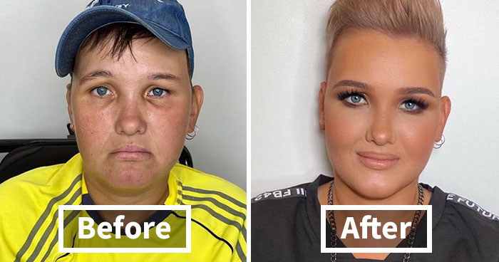 """30 Incredible Makeup Transformations That Prove """"Every Woman Is A Hollywood Star"""" (New Pics)"""