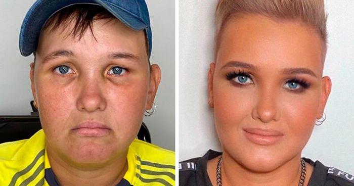 """30 Increíbles transformaciones gracias al maquillaje que demuestran que """"toda mujer es una estrella de Hollywood"""" (Nuevas fotos)"""