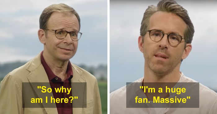 Rick Moranis Breaks His 23 Year Hiatus To Appear In Ryan Reynolds Ad Bored Panda