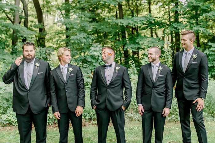 Couple's Wedding Photoshoot Gets A Fairytale-Like Twist After A Monarch Butterfly Joins In