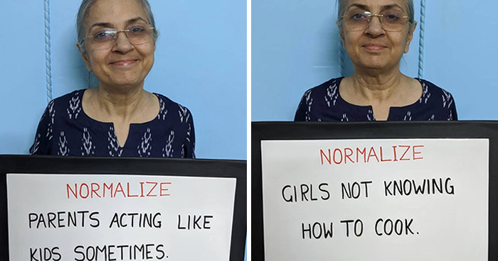 Indian Mom Goes Viral After Son Convinces Her To Put Her Worldly Wisdom On Signs And Share It On IG (30 Pics)