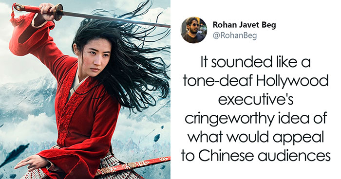 Guy On Twitter Points Out Why Disney's Mulan (2020) Is Effectively Chinese Propaganda