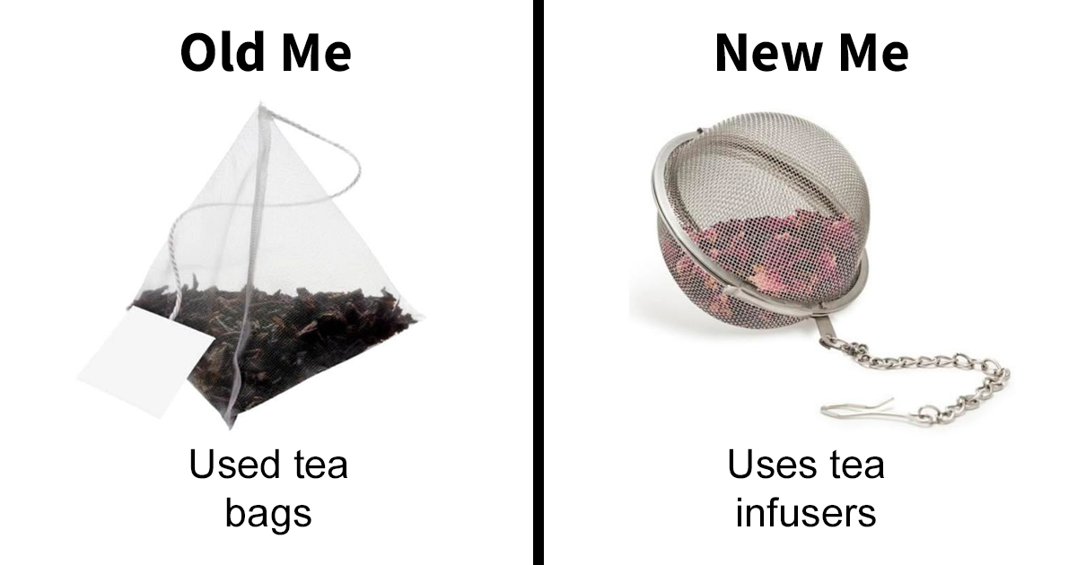 65 'Old Me vs. New Me' Memes That Will Help You Reduce Waste