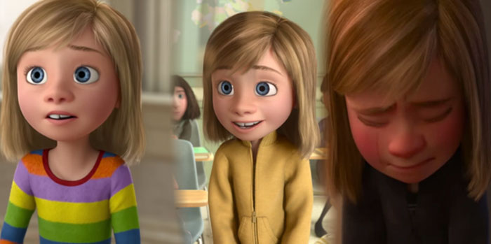 In Inside Out (2015), Riley's Clothes Become More Muted As She Becomes More Depressed Throughout The Movie