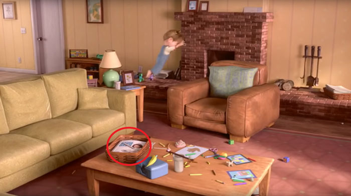 A Magazine In Riley's Living Room Features Colette From Ratatouille On The Cover