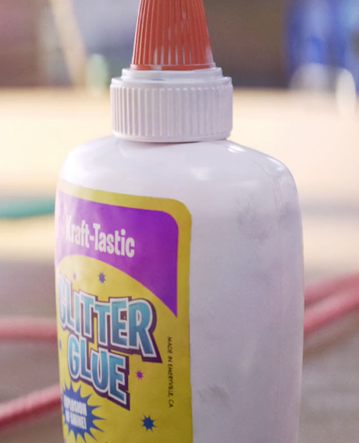 Toy Story 4- On This Glue, It Is Written That It Was Manufactured In Emeryville, California, Which Is Where Pixar Studios Is Located